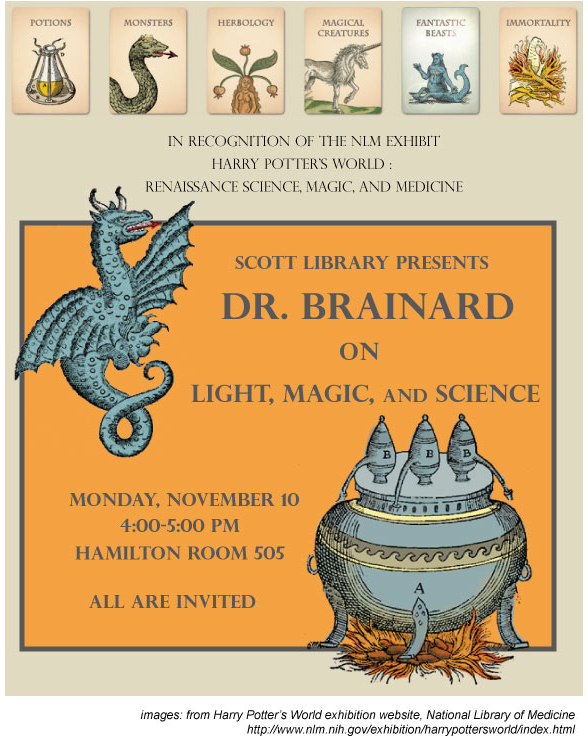 Light, Magic and Science