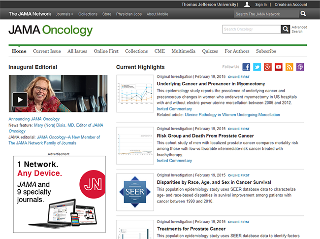 JAMA oncology